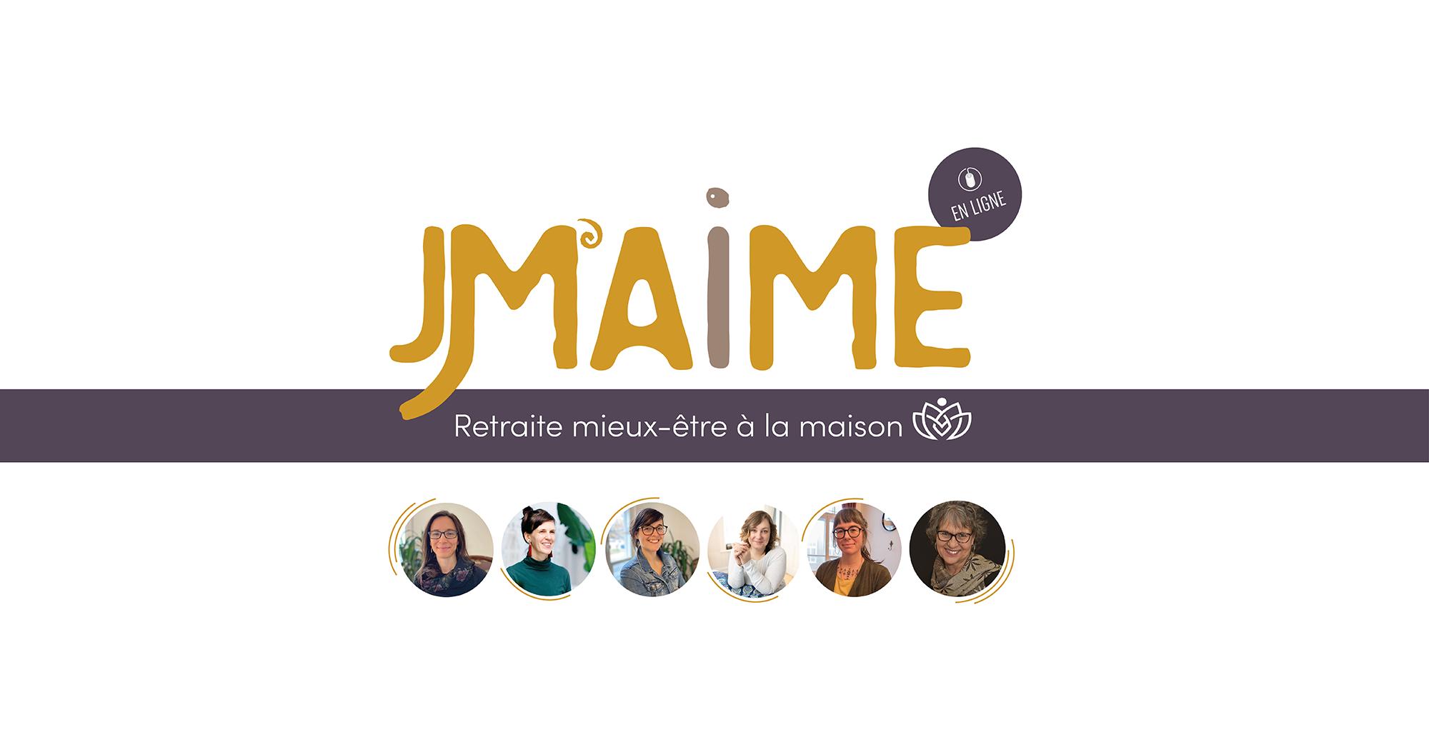 JM'AIME Retraite mieux-être en ligne Inscription et programme de la journée