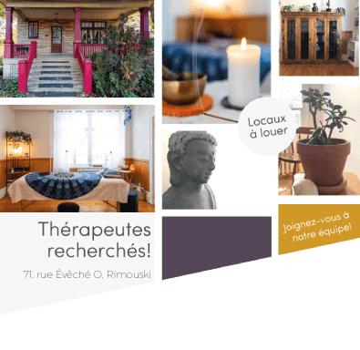 Locaux à louer pour thérapeutes - Clinique-école Mamoüth