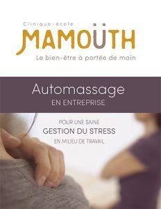 Automassage en entreprise : notre offre de services