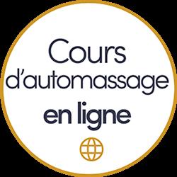Pastille à cliquer pour en savoir plus sur les cours d'automassage en ligne