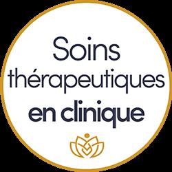 Pastille à cliquer pour en savoir plus sur les soins thérapeutiques en clinique